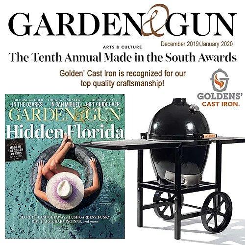 Garden & Gun Magazine Review Goldens' Cast Iron Review