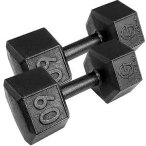 60 Pound Dumbbells