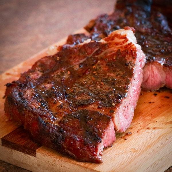 Goldens Cast Iron Grilled Steak Ribeye Recipe