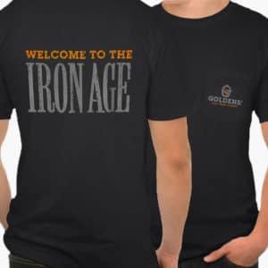 Goldens' Cast Iron Official Pocket T-Shirt