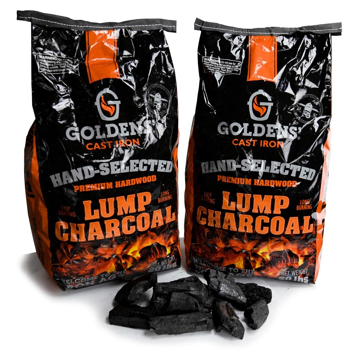 Goldens' Cast Iron Premium Lump Charcoal
