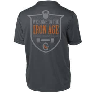 Goldens' Cast Iron Men's Iron Age Badge Tee