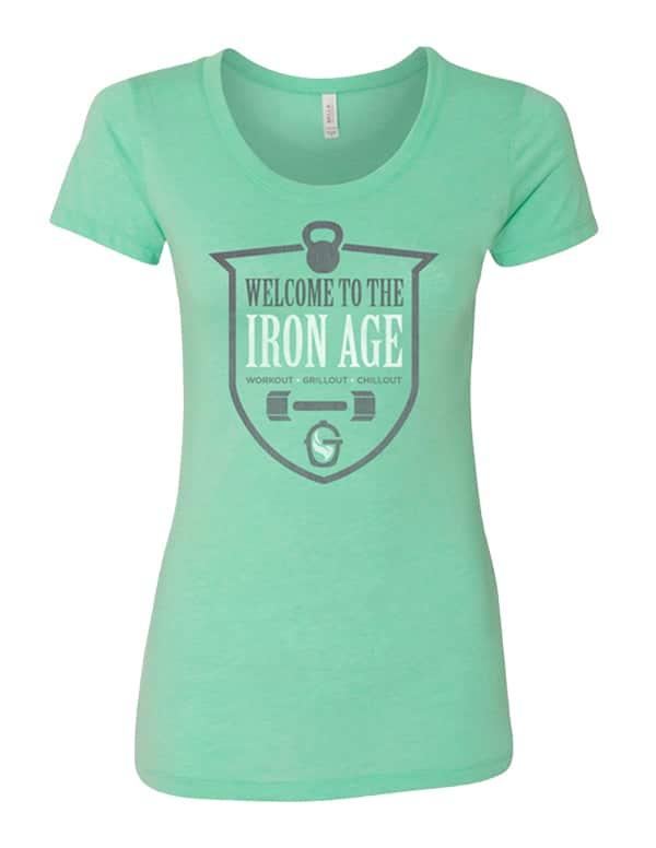 Women's Iron Age Badge Mint